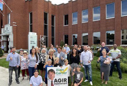 Élections municipales: Alain Carrier est officiellement candidat