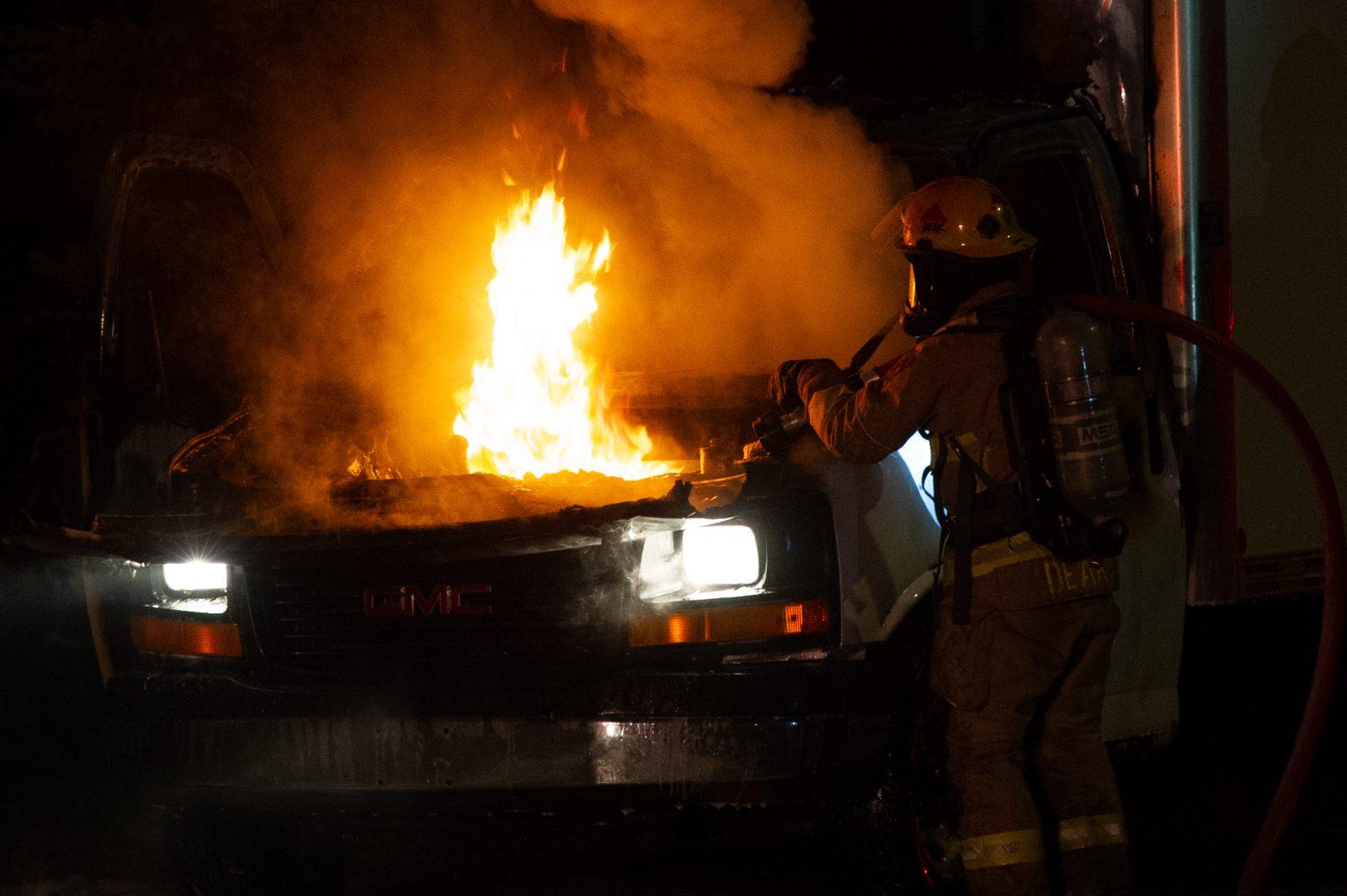 Incendie suspect sur la rue Saint-Jean