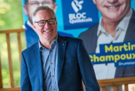 Martin Champoux est réélu dans Drummond