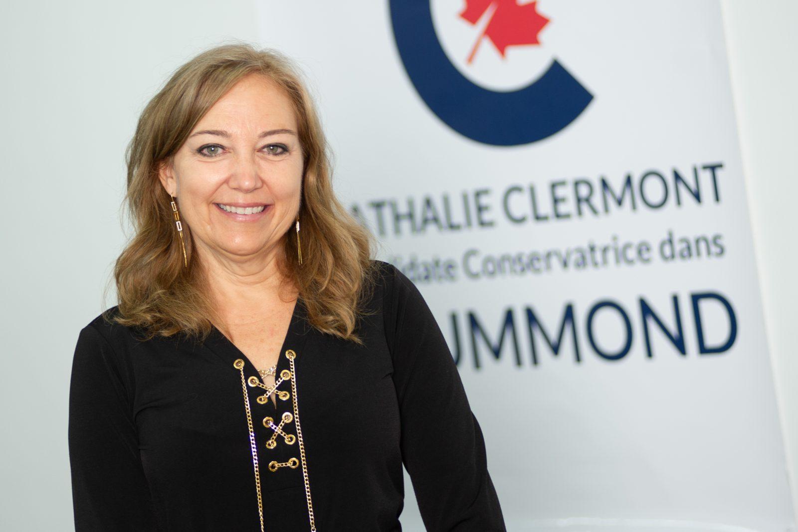 Nathalie Clermont «veut agir pour Drummond»