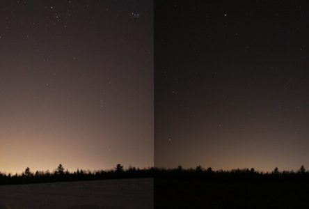 Moins de pollution lumineuse, observe le Club d'Astronomie Drummondville