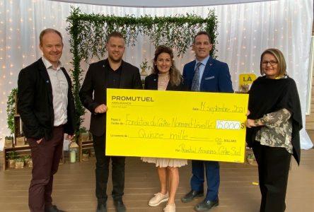Un don surprise de 15000 $ pour le Centre Normand-Léveillé