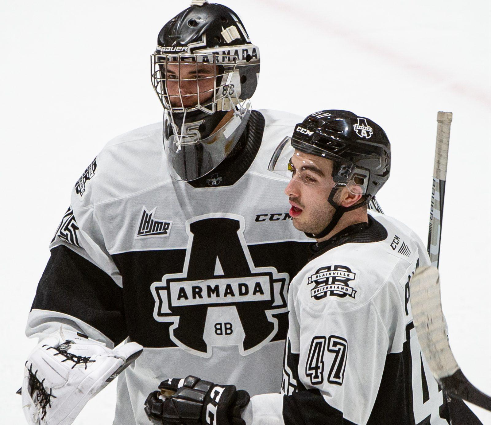 Pinard et Adam : du hockey mineur jusqu'au camp des Panthers