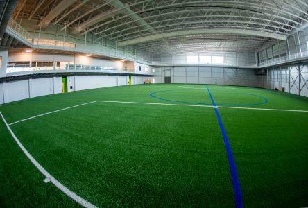 Incursion dans le nouveau centre sportif Girardin (photos)