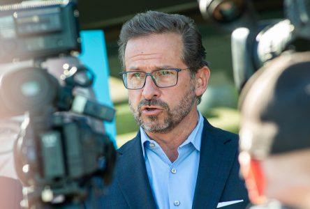 Yves-François Blanchet demande aux citoyens de Drummond de voter