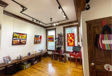 La couleur rouge est à l'honneur à la Galerie mp tresart