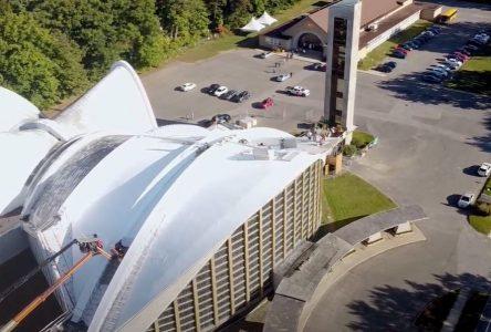 Besoin de 545 000 $ pour le toit de la cathédrale de Nicolet