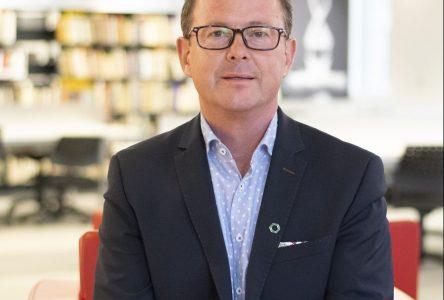 Christian Gagnon devient le président du conseil d'administration du Cégep de Drummondville