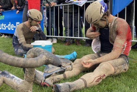 Hugo Houle ne peut compléter Paris-Roubaix