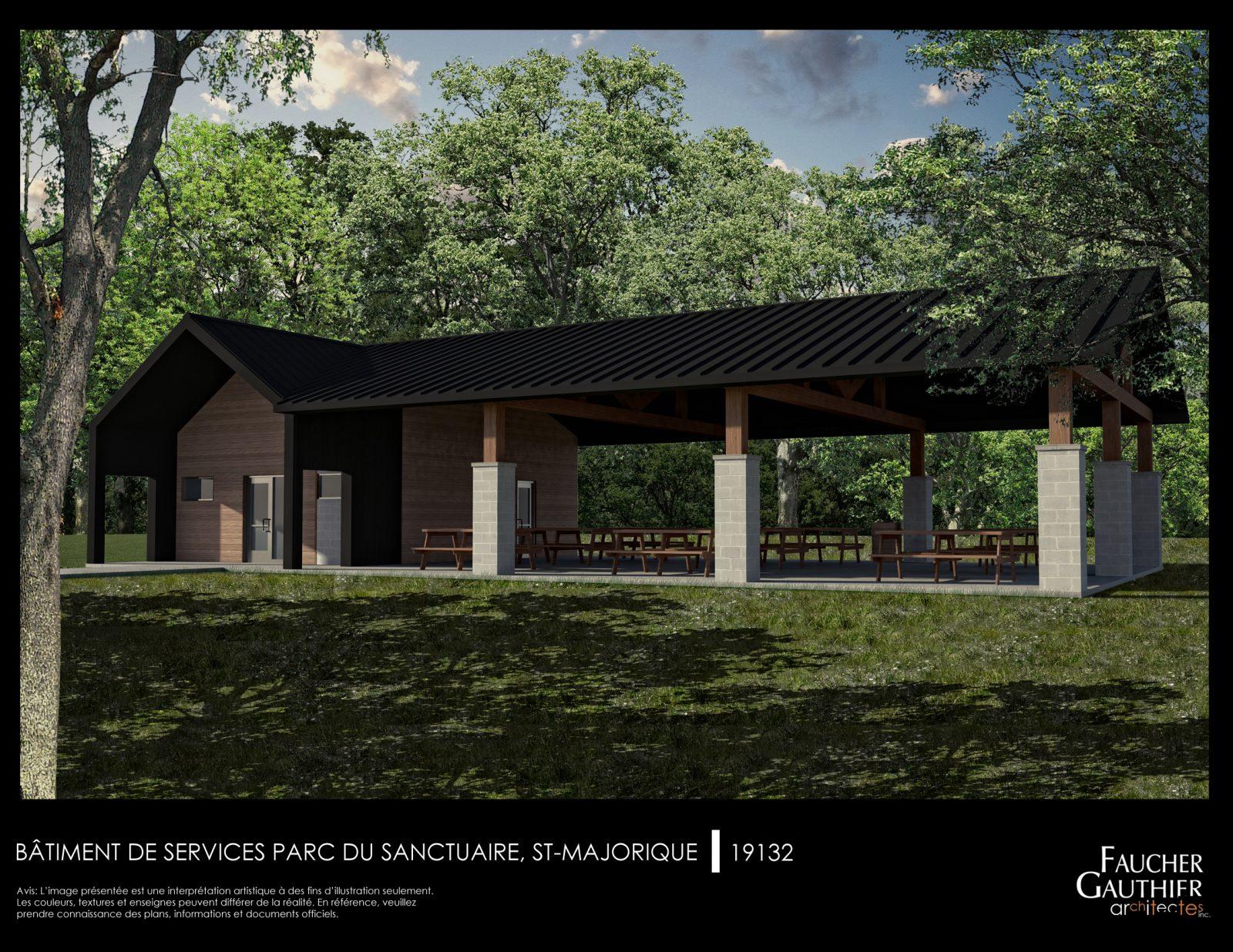 La revitalisation du parc du Sanctuaire s'amorce