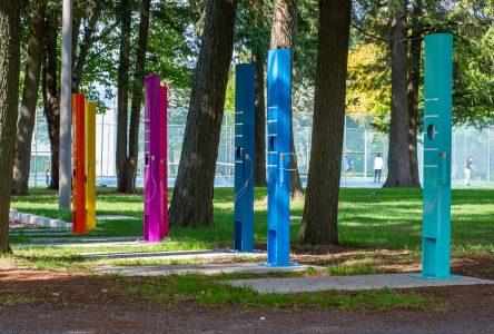 L'oeuvre Crescendo s'installe au parc Bellevue