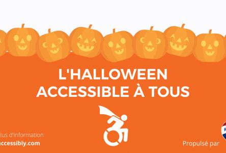 Des affiches L'Halloween accessible à tous disponibles dès samedi