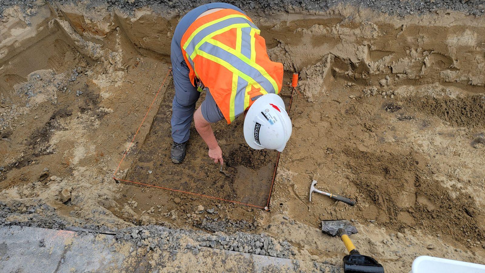 Des fouilles archéologiques concluantes au stationnement de la place d'Armes